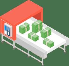 revenue-generating machine