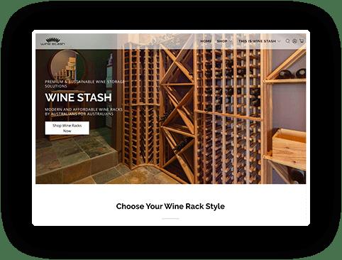 WineStash site