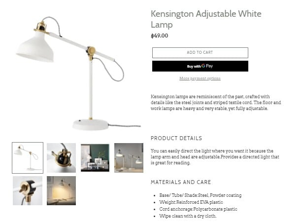 Check the product page